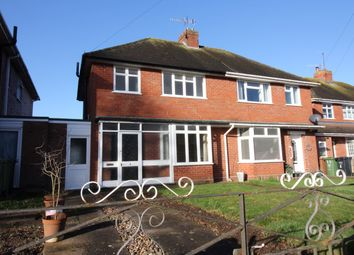 Thumbnail 3 bed semi-detached house for sale in Morrin Close, Northwick, Worcester