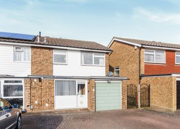 Thumbnail 3 bed semi-detached house for sale in Wych Elms, Park Street, St. Albans
