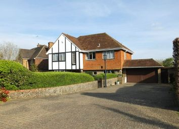 Thumbnail 4 bedroom detached house for sale in Wych Hill Way, Woking