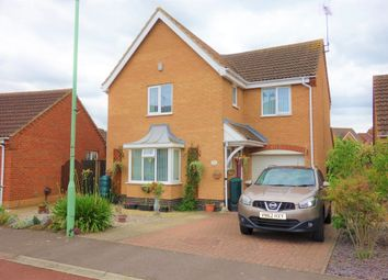 Thumbnail 4 bed detached house for sale in Leonard Drive, Lowestoft