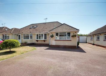 Thumbnail 3 bed semi-detached bungalow for sale in Strathmore Road, Worthing, West Sussex