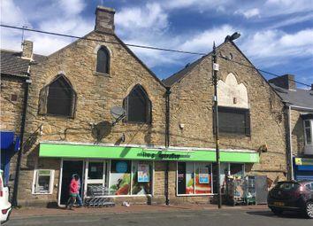 Thumbnail Retail premises for sale in 33 - 34 Front Street, Leadgate, Consett, Durham