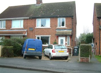 Thumbnail 3 bed semi-detached house to rent in Clay Flat Lane, Rossington, Doncaster