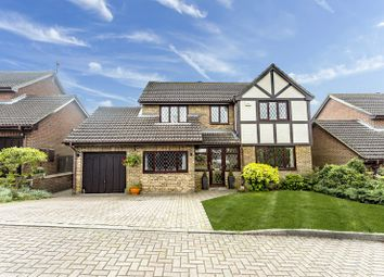 Thumbnail 4 bed detached house for sale in The Meadows, Warlingham, Surrey