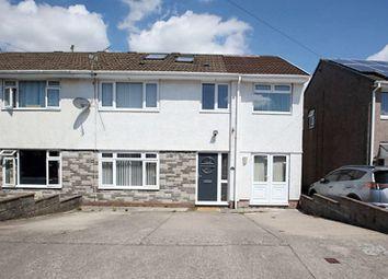 Thumbnail 5 bed semi-detached house for sale in Heol Gelynog, Beddau, Pontypridd