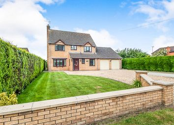Thumbnail 4 bed detached house for sale in Church Lane, Tydd St. Giles, Wisbech
