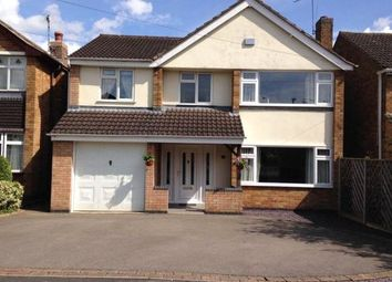Thumbnail 4 bedroom detached house for sale in John Bold Avenue, Stoney Stanton, Leicester