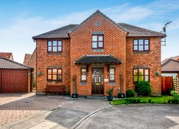 Thumbnail 5 bedroom detached house for sale in Chapel Walk, Riccall, York