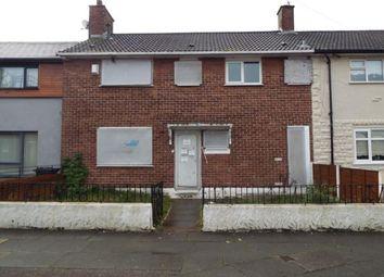 Thumbnail 4 bedroom terraced house for sale in Jarrett Road, Liverpool, Merseyside