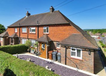 Thumbnail 2 bed semi-detached house for sale in Selby Rise, Uckfield