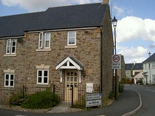 Thumbnail 2 bed semi-detached house to rent in Booth Gardens, Hay-On-Wye