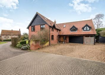 Thumbnail 5 bed detached house for sale in Pople Street, Wymondham, Norfolk