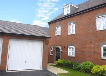 Thumbnail 4 bed semi-detached house for sale in Lewisham Drive, Church Gresley, Swadlincote