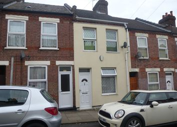 Thumbnail 2 bedroom terraced house for sale in Hampton Road, Luton