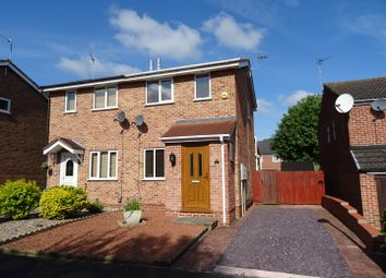Thumbnail 2 bed semi-detached house to rent in Ploughmans Drive, Shepshed, Leicestershire