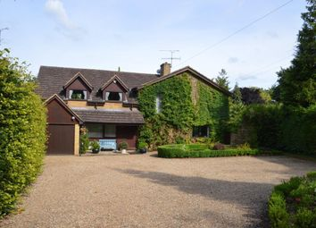 Thumbnail 4 bed detached house for sale in Rowbarns Way, East Horsley