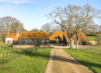 Thumbnail 3 bed detached house for sale in Slade Farm, Ockham Road North, Ockham, Woking, Surrey