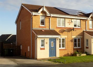 Thumbnail 3 bed semi-detached house for sale in Woodbridge Close, Heanor, Derbyshire