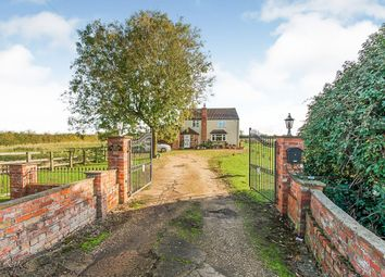 Thumbnail 4 bedroom detached house for sale in Trader Bank, Sibsey, Boston