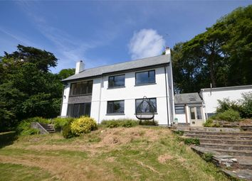 Thumbnail 4 bed detached house for sale in Tarrandean Lane, Perranwell Station, Truro, Cornwall