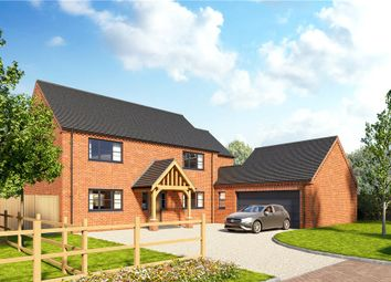 Thumbnail 4 bed detached house for sale in Hall Lane, Moulton Seas End, Lincolnshire