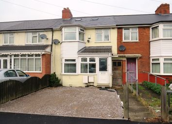 Thumbnail 4 bedroom terraced house for sale in Nansen Road, Saltley, Birmingham