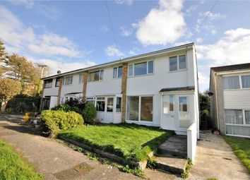 Thumbnail 3 bed end terrace house for sale in Meadow Drive, Bude, Cornwall