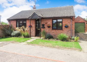 Thumbnail 2 bedroom detached bungalow for sale in Hall Close, Hemsby, Great Yarmouth