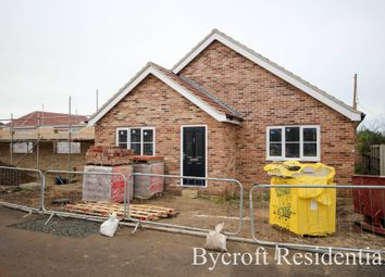 Thumbnail 3 bed detached bungalow for sale in Yarmouth Road, Hemsby, Great Yarmouth