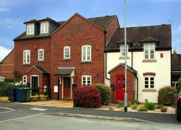 Thumbnail 3 bed terraced house for sale in Perle Brook, Eccleshall, Staffordshire