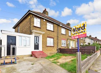 Thumbnail 3 bed end terrace house for sale in Cedar Avenue, Gravesend, Kent