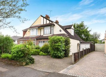 Thumbnail 3 bed semi-detached house for sale in Heath Drive, Theydon Bois, Essex