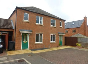 Thumbnail 2 bedroom semi-detached house to rent in Cygnet Road, Dereham