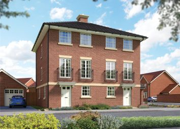 Thumbnail 3 bed semi-detached house for sale in Emmbrook Place, Matthewsgreen Road, Wokingham, Berkshire