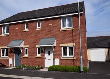 Thumbnail 3 bed semi-detached house to rent in Bloomery Circle, Llanwern, Newport