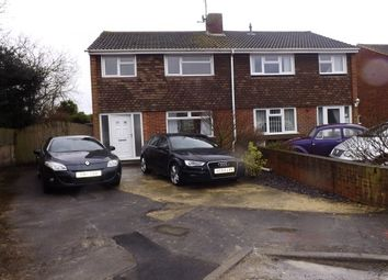 Thumbnail 3 bed semi-detached house to rent in Hardie Close, Stratton St. Margaret, Swindon