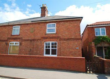 Thumbnail 2 bed semi-detached house for sale in St John Street, Wainfleet, Skegness