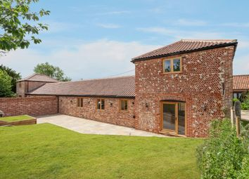 Thumbnail 3 bed barn conversion for sale in The Lea, Cooper Road, North Walsham