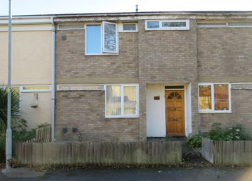 Thumbnail 3 bed terraced house for sale in St Johns Close, Mildenhall, Bury St. Edmunds