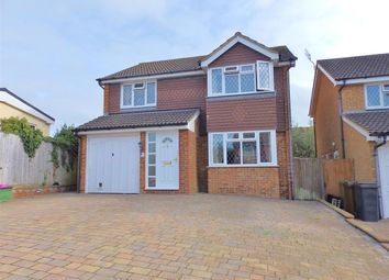 Thumbnail 4 bed detached house for sale in Grasmere Close, Eastbourne