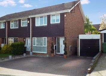 Thumbnail 3 bedroom semi-detached house for sale in Dando Close, Wollaston, Northamptonshire