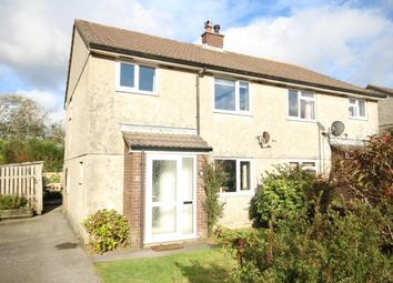 Thumbnail 3 bed semi-detached house for sale in Roughtor Drive, Camelford