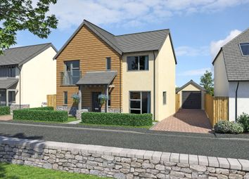 Thumbnail 4 bedroom detached house for sale in Plot 8, Yarners Mill, Dartington, Devon