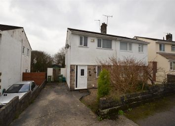 Thumbnail 2 bed semi-detached house for sale in Heol Dewi, Brynna, Pontyclun