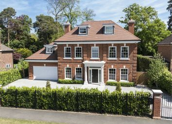 Thumbnail 6 bed detached house to rent in Ellesmere Road, Weybridge, Surrey