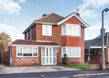 Thumbnail 3 bed detached house for sale in Birchwood Road, Swindon