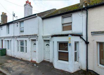 Thumbnail 2 bed terraced house for sale in Charlotte Street, Folkestone