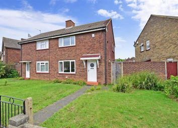 Thumbnail 2 bed semi-detached house for sale in Tensing Avenue, Northfleet, Gravesend, Kent