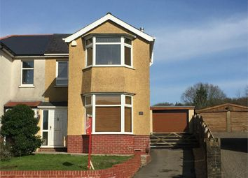 Thumbnail 3 bedroom semi-detached house for sale in Main Road, Bryncoch, Neath, West Glamorgan