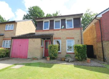 Thumbnail 3 bed detached house for sale in Sissinghurst Close, Crawley